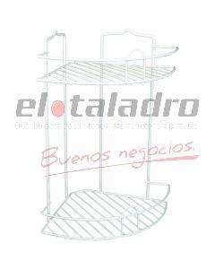 ORGANIZADOR ESQUINERO GRANDE 2 ESTANTES