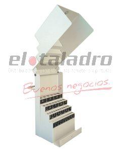 CAJA PORTAMECHAS EPOXI C/TAPA 43M