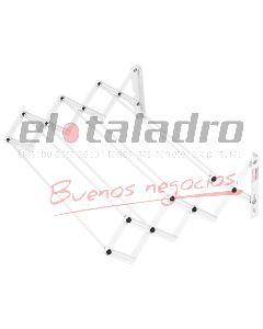 TENDEDERO EXTENSIBLE (7 VARILLAS) 0,45 Mts