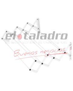 TENDEDERO EXTENSIBLE (7 VARILLAS) 0,60 Mts