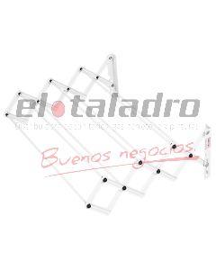 TENDEDERO EXTENSIBLE (7 VARILLAS) 0,80 Mts