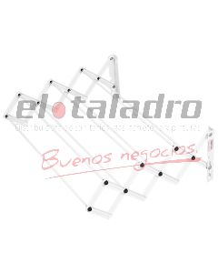 TENDEDERO EXTENSIBLE (7 VARILLAS) 1,00 Mts