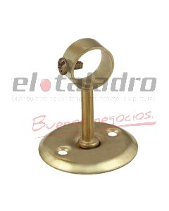 SOPORTE BARRAL DE CORTINA 1/2 MEDIANO 20mm CERRADO BCDO