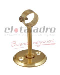 SOPORTE BARRAL DE CORTINA 1/2 LARGO 35mm CERRADO BCDO