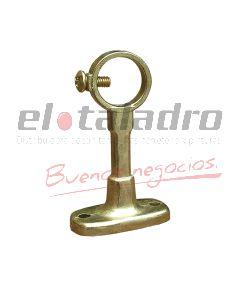 SOPORTE BARRAL DE CORTINA 1/2 CERRADO ZAMAC