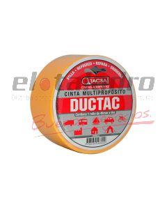 CINTA DUCTAC 48mm x 9mts AMARILLO
