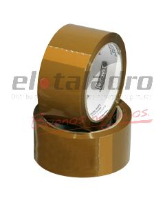 CINTA EMBALAR 48mm x 100mts MARRON -TACSA-