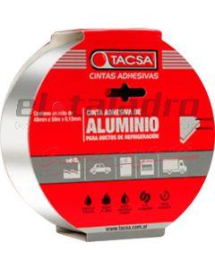 CINTA DE ALUMINIO 48mm x 50mts REFRIG.