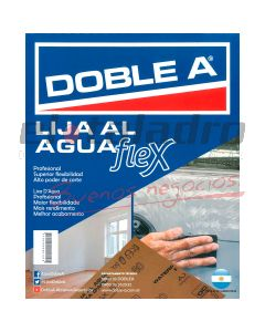 DOBLE A LIJA AL AGUA 600 ( 50 )