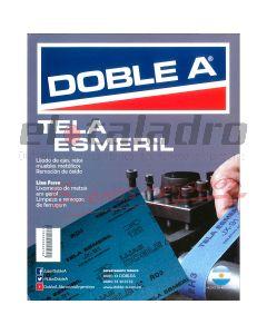 DOBLE A TELA ESMERIL 180 (50 )