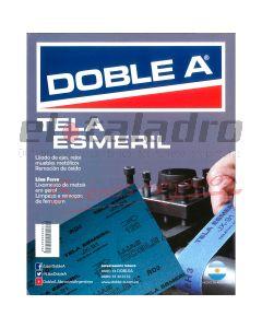 DOBLE A TELA ESMERIL 100 (50 )