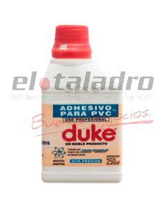 ADHESIVO PVC DUKE 250 CM.