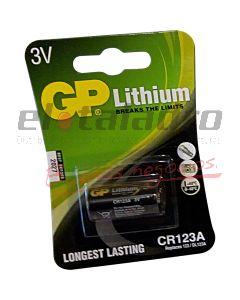 GP-PILA LITHIO CR123A 3V