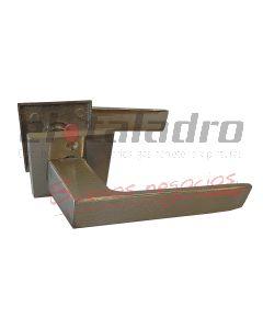 MANIJA BISELADA DOBLE PLATIL R/CUADRADA 44.P/MED