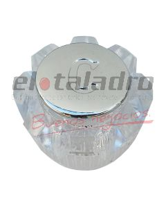 VOLANTE PLASTICO TORNADO CRISTAL S/INSERTO