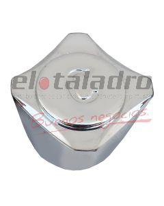 VOLANTE PLASTICO LOTUS CROMADO S/INSERTO