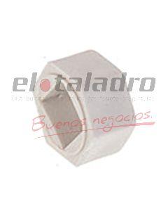 INSERTO PLASTICO ESTRIA CUADRADA