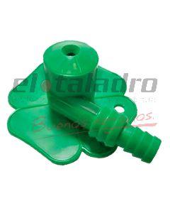 ROCIADOR SAPITO PLASTICO 1/2 x3/4 M/GIRO