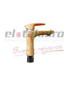 MONOCOMANDO ABS LAVATORIO MADERA MOZART DOHA (7263)