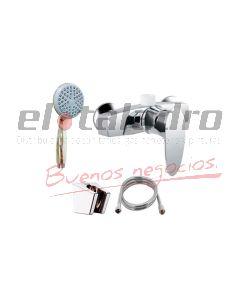 MONOCOMANDO ABS DUCHA S/TRANSF CROMO MOZART DOHA (7230)