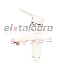 MONOCOMANDO ABS LAVATORIO RECTA BLANCA MOZART BOGOTA (9374)