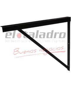 SOPORTE ANGULO REFORZADO 1.1/4x1/8 NEGRO 30cm (2)