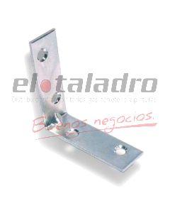 ESQUINERO ANGULO REVERSIBLE ZINC 8x8cm x24un