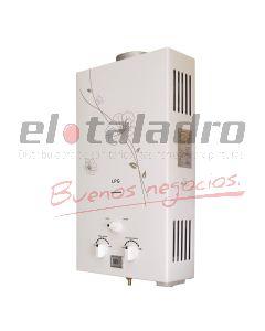 CALEFON G/NATURAL 6 Lts.ENCENDIDO ELECTRICO AUTOMATICO IMP.