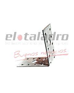 ESQUINERO DOBLE REFORZADO GALVANIZADO 4x4 cm x24un