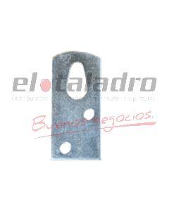 SOPORTE P/REPISA ZINC 4.5cm ALTO(100u)