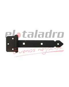 BISAGRA HIERRO FORJADO P/ATORN. 30cm PERNO 12mm