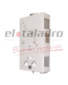 CALEFON G/NATURAL 14 Lts.ENCENDIDO ELECTRICO AUTOMATICO IMP.
