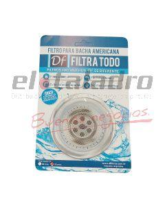 FILTRO P/BACHA AMERICANA TRANSPARENTE 70mm