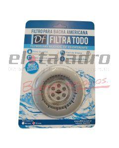 FILTRO P/BACHA AMERICANA PLATA 70mm