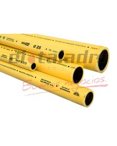 FUSIOGAS TUBO 40 mm x 4 mts.