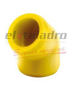 FUSIOGAS CODO 25 mm A 45