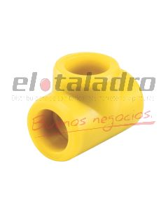 FUSIOGAS TEE RED 40 x 25 mm