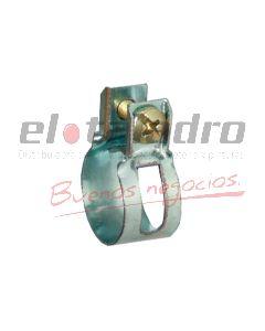 ABRAZADERA AA-24 9.5mm FLEJE 13mm BOLSA x25u