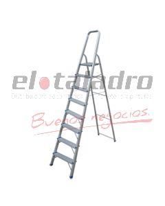 ESCALERA ALUMINIO COMERCIAL 8 ESC 176cm