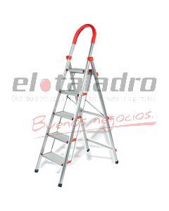 ESCALERA  ALUMINIO 5 ESC. C/GRIP
