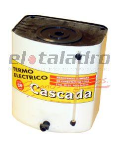 TERMO ELECTRICO 20 Lts PINTADO ALUMINIO C/C