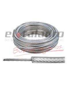 CABLE FORRADO EN PVC 4mm (Rx100Mts)