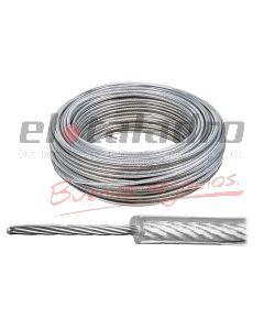 CABLE FORRADO EN PVC 5mm (Rx100Mts)