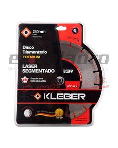 KLEBER DISCO DIAMANTADO LASER 230 mm