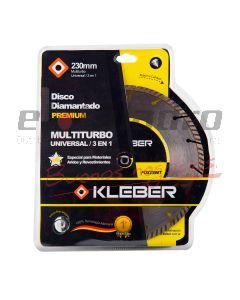 KLEBER DISCO DIAMANTADO 3en1 MULTITURBO 230 mm