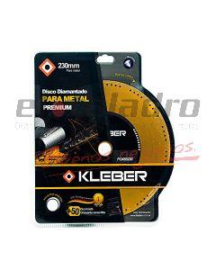 KLEBER DISCO DIAMANTADO  CORTE METAL 230 mm