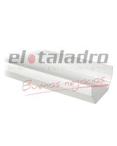 RAINGO CANALETA PVC x 3mts.