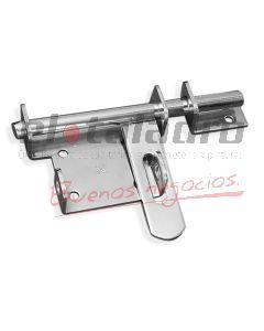 PASADOR C/PORTACANDADO 6u140x60 11mm CROMAT.