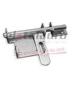 PASADOR C/PORTACANDADO 6u170x75 13mm CROMAT.