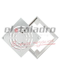 REJILLA DE PISO MARCO PLAST 10 x 10